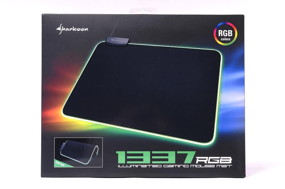SHARKOON 旋刚 1337 RGB 电竞鼠标垫 评测