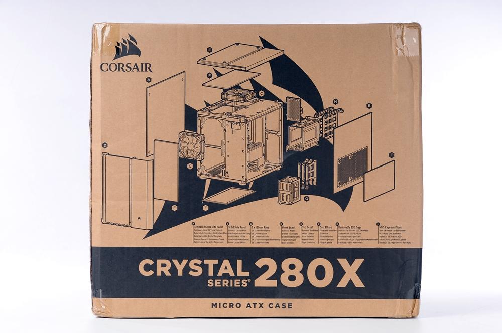 CORSAIR 海盗船 CRYSTAL SERIES 280X RGB 机箱 评测