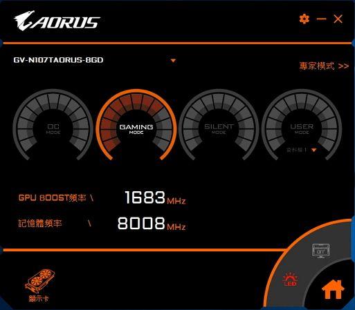 技嘉 AORUS GTX 1070 TI 评测