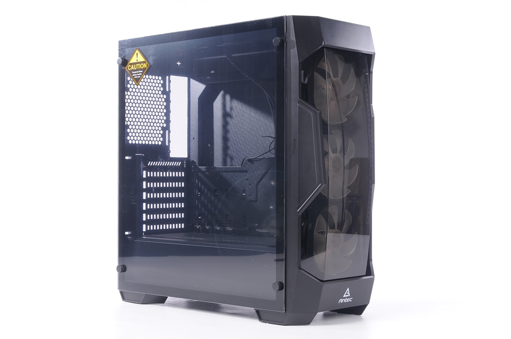 ANTEC 安钛克DF500 RGB电竞机箱 评测