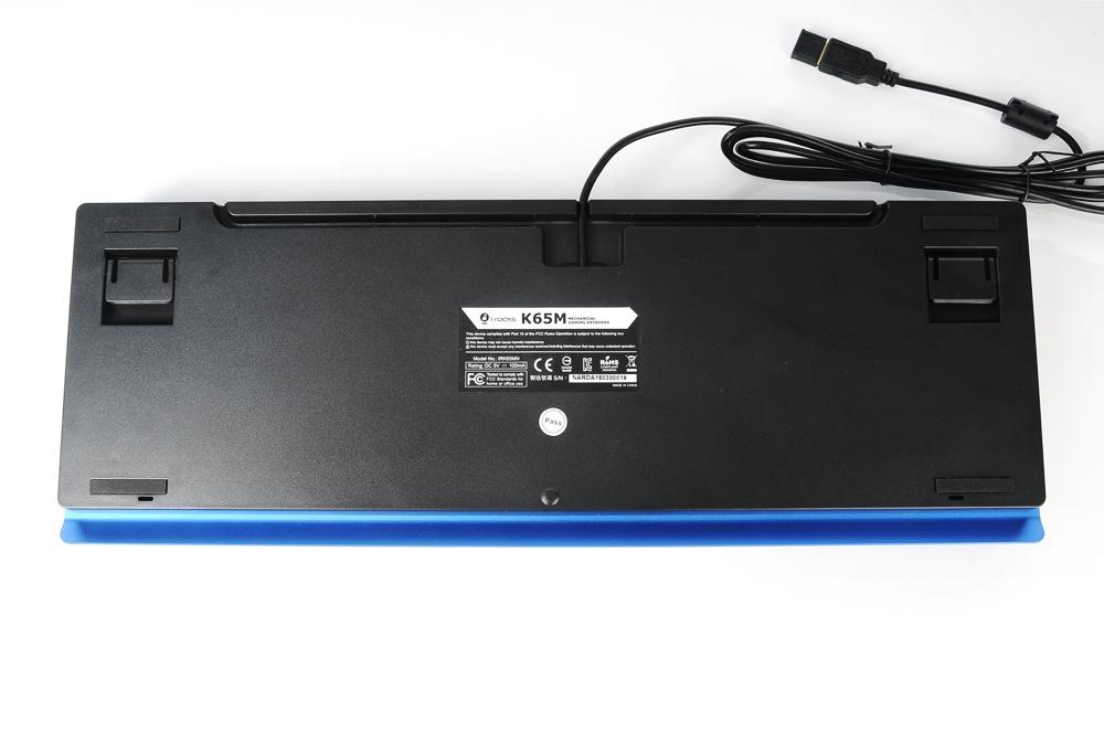 I-ROCKS 艾芮克 K65MN 机械键盘 评测
