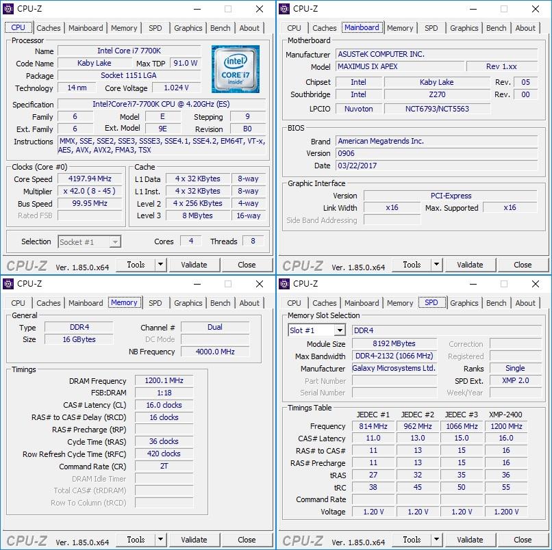 GALAX 影驰 GAMER III RGB 内存 评测