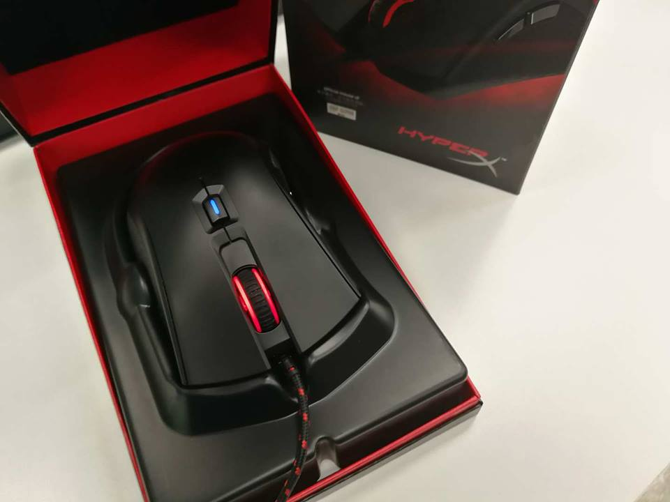 金士顿 Kingston HyperX Pulsefire FPS评测