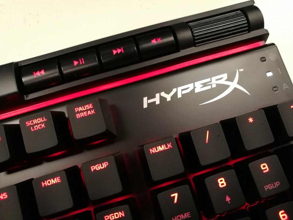 金士顿 Kingston HyperX Alloy Elite机械键盘评测
