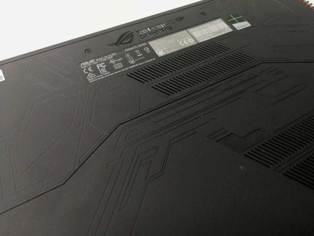华硕ASUS ROG Strix GL553VD评测