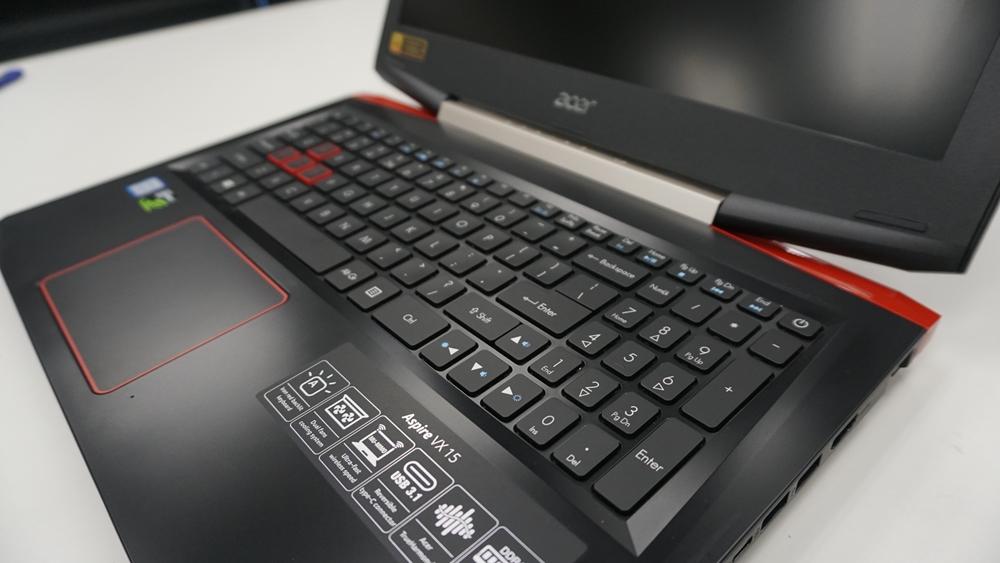 宏碁Acer Aspire VX 15评测