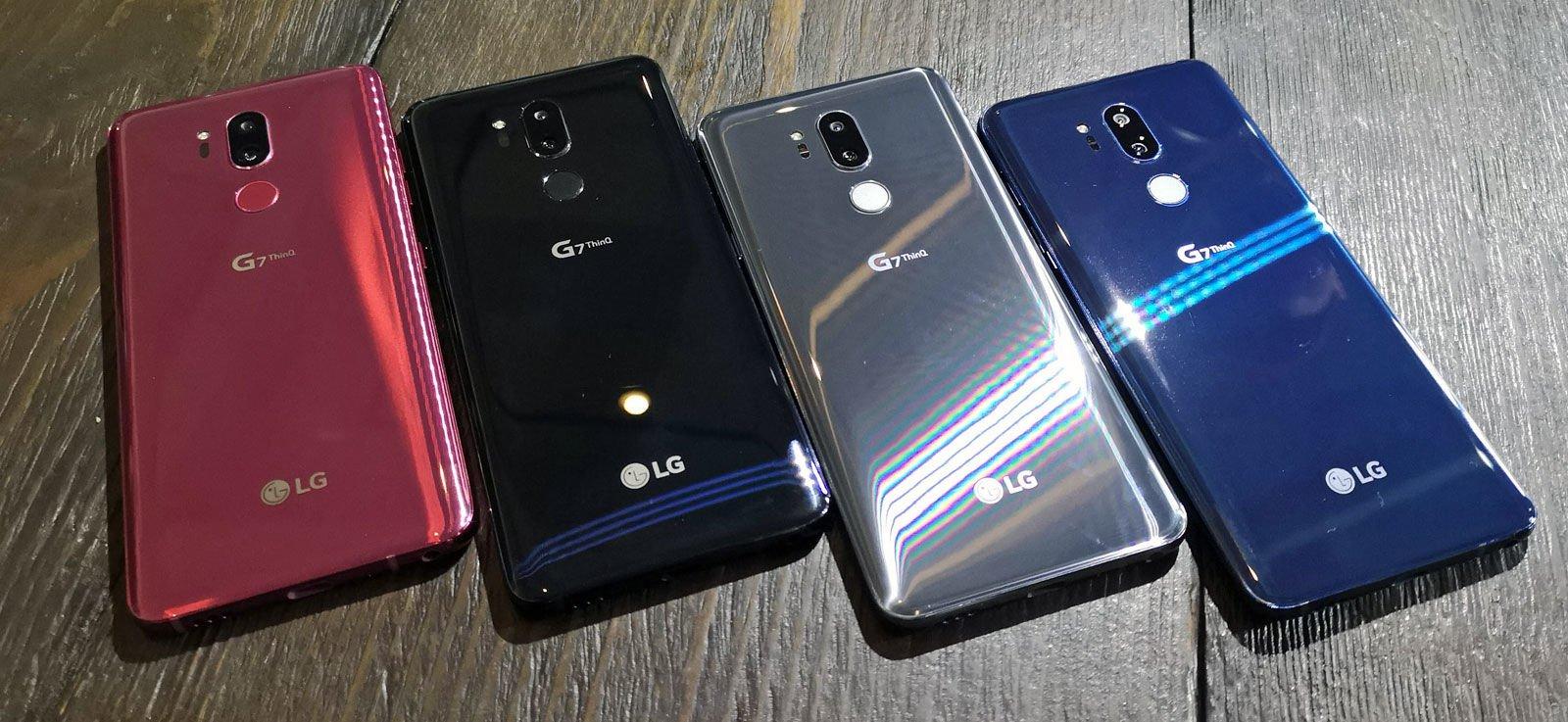 LG在韩发布LG G7 ThinQ第一个测试版Android 9 Pie