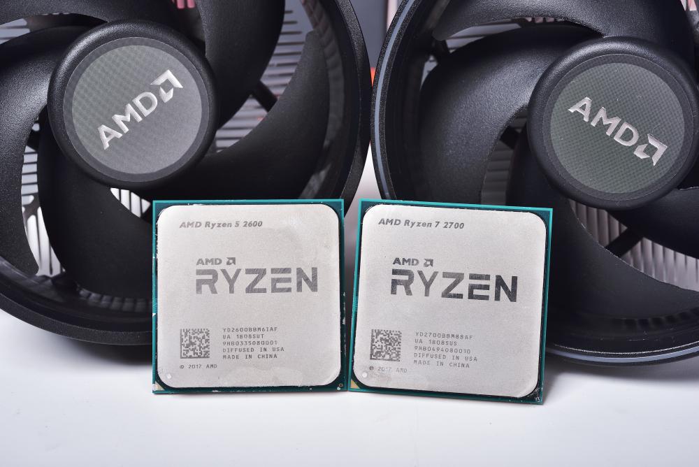 AMD RYZEN 7 2700和R5 2600性能跑分对比评测