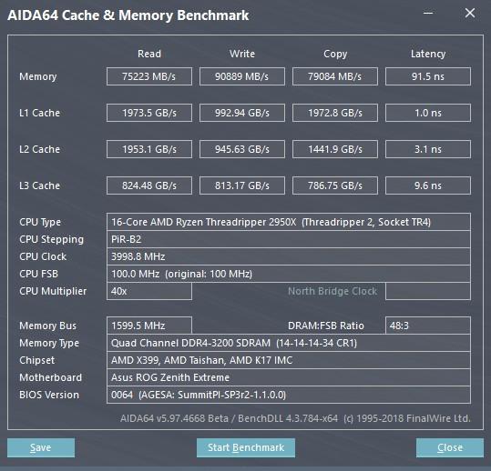 AMD 2990WX和2950X性能跑分评测