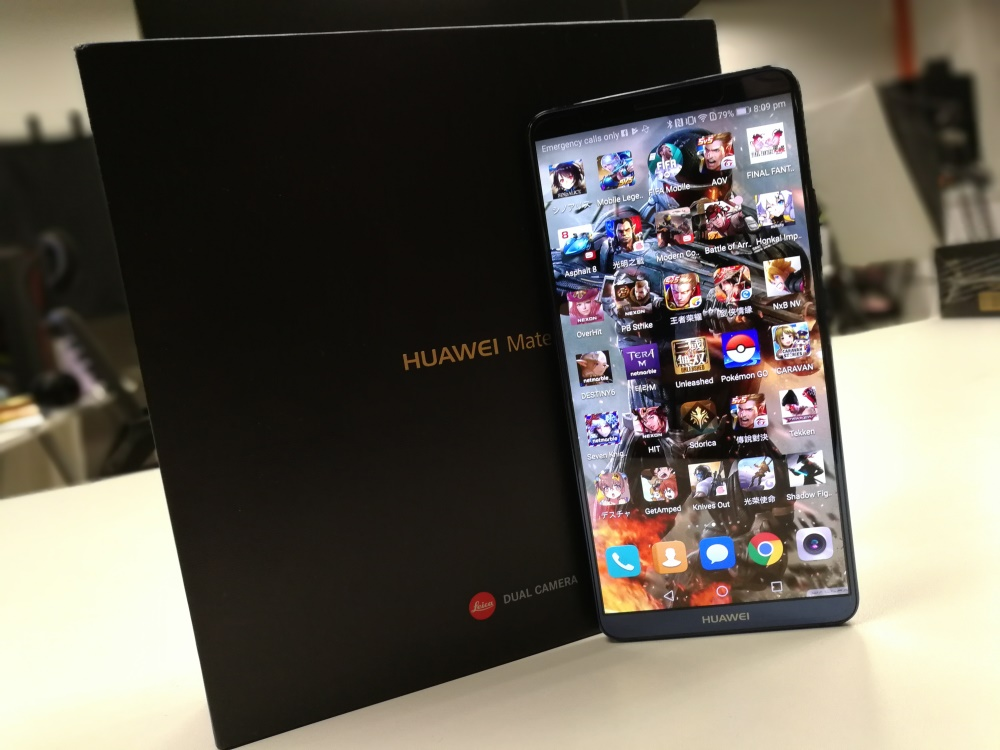华为HUAWEI Mate 10 Pro评测