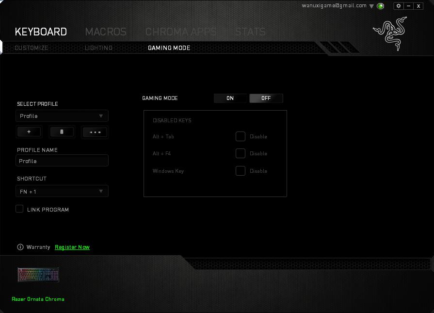 雷蛇 Razer Ornata Chroma键盘评测