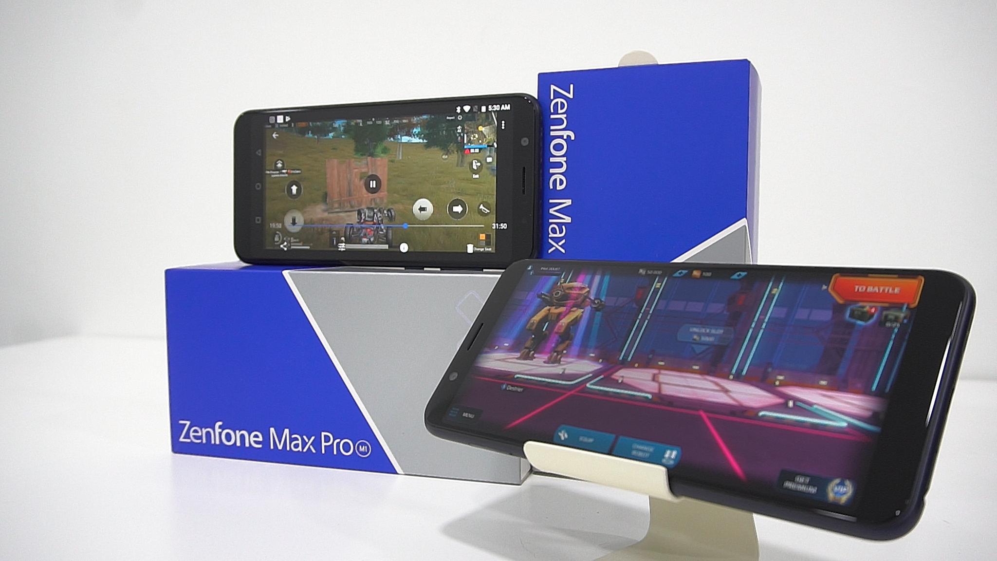 华硕 ASUS ZenFone Max Pro M1 评测