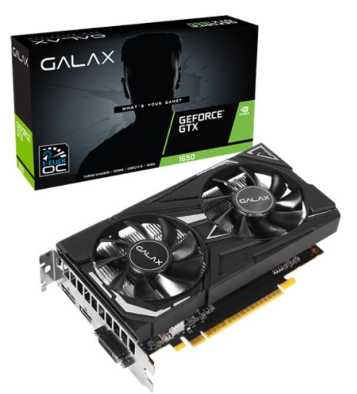 GALAX发布GTX 1650 GDDR6系列显卡