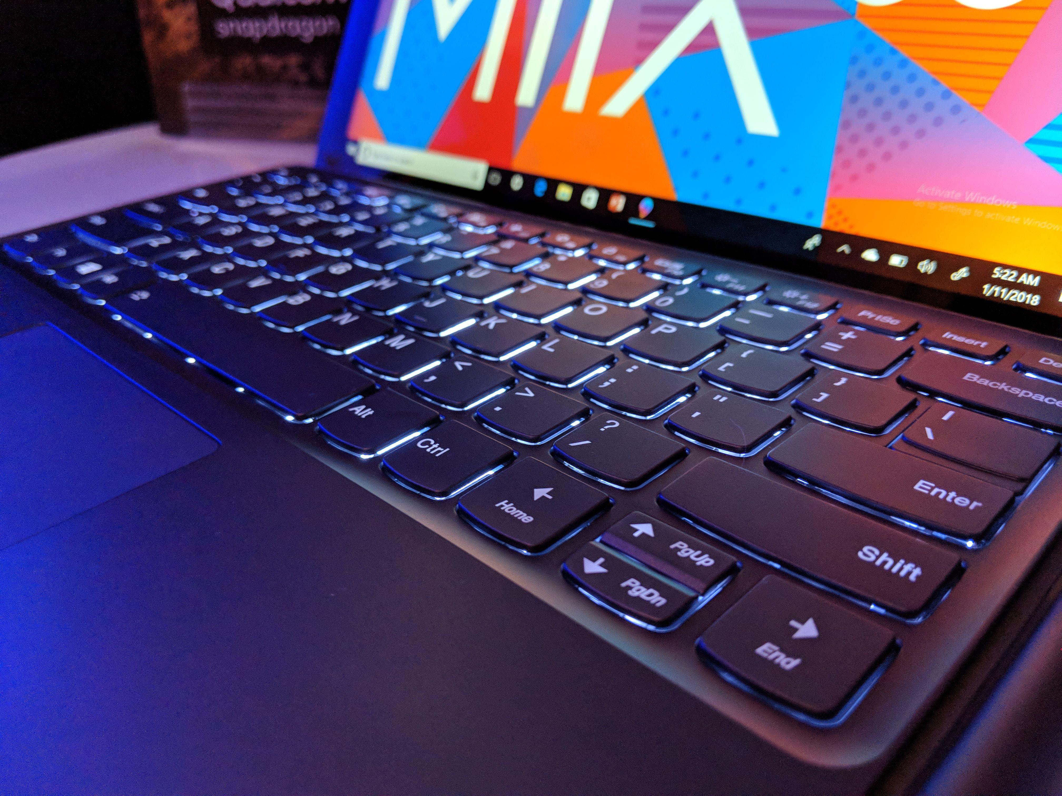 联想Lenovo Miix 630 评测